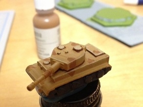 Tiger 1 Tank Sized for Memoir '44