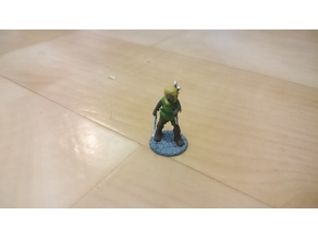 18mm female rogue for D&D