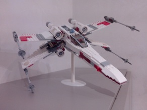 Lego X-Wing (9493) stand