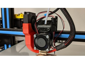 CR-10S/E3D-V6 Parts cooling fan using stock OEM fan