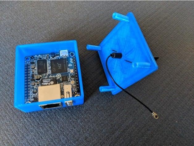 ThingMatic Orange PI White Case for PI Zero only