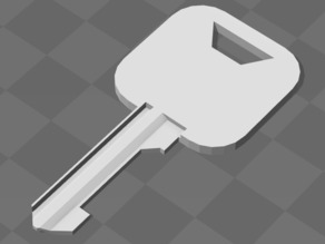 Lock-Jamming Key