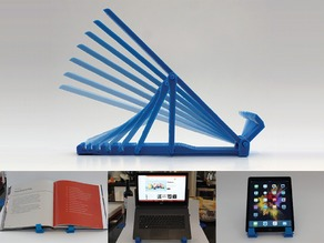 The Geometric Adjustable Laptop+ Stand