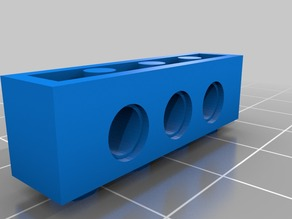 Lego Technic-like Brick (4x1)