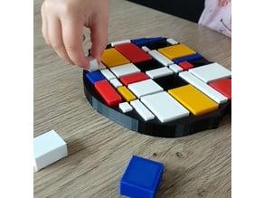 Mondrian puzzle