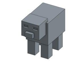 Magnet Minecraft Pig