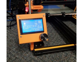 CR-10 Stand Alone Display for pcb1-sjxd12864f-3