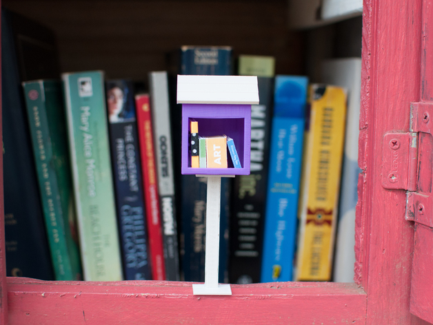 Little Little Free Library By Colleeniebikini Thingiverse