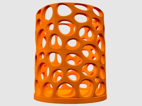 Voronoi reso candle holder