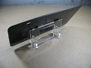 License Plate Stand
