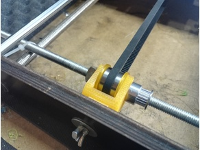 ctc Y axis belt tightener bearings prusa i3