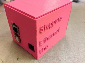 Hinged customizable arduino case UPDATED