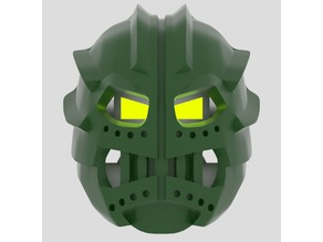 Kanohi Suletu, Great Mask of Telepathy (Non-Organic)