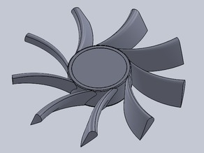 blades replacement for 120mm fan Ultra AirFlow