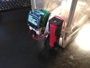 WeMos/Lolin D1 Mini - Mount for Drybox + script for BME280