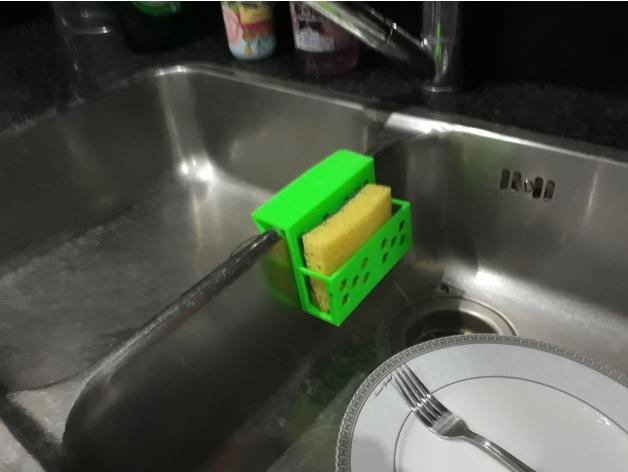 Kitchen Sink Sponge Holder by marco_caroube