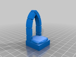 1 x 1 OpenForge Compatible Arch Door