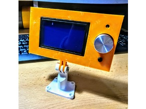 Anet A6/A8 12864 Graphical LCD Case for GoPro Mount