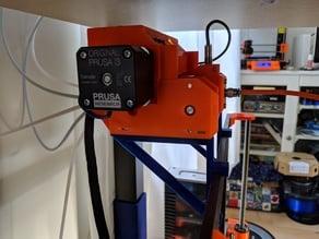 Horizontal MMU2 mounting bracket