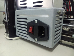 Customizable PSU cover