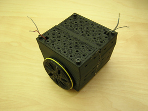 Mobile Robot, With Printable Gearbox