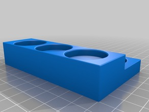holder for Minis, 27mm holes