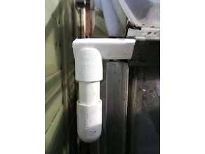 Greenhouse Gutter downpipe adaptor
