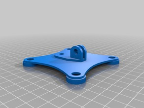 gopro fixation for tarrot 2D gimbal