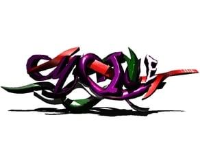 Malice 3D graffiti