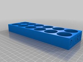 Stackable Battery Tray for D-Battery / D-Cell / LR20 batteries