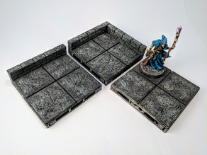 War-Lock Tiles: Stonework Base Set