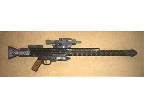 IG-88's DLT-20A blaster rifle parts