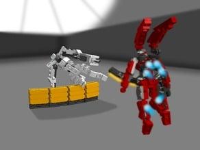 Lego Vanquish ARS Suit and Bogey Suit