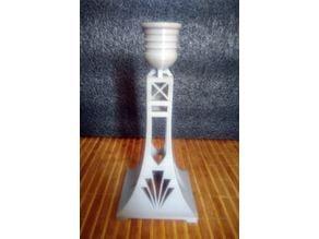 Art-Deco Candlestick