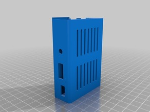 Raspberry Pi3 - Case with solid logo