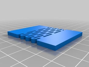 Slotter - a lattice hinge module for OpenSCAD