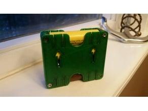 4X 18650 battery holder case