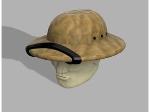 28mm American fiber helmet