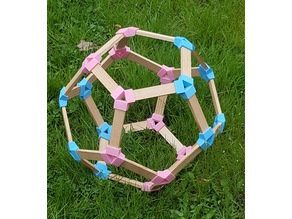 Kapla Dodecahedron