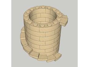 Escaleras circulares 7x para Exin Castillos