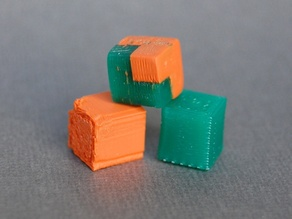 Two Colour Standard Cube, 1mL