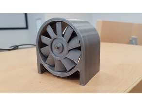 High Speed ducted fan