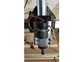 Shapeoko - Spindle Adapter Plate