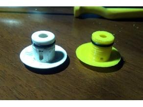 Air massage valve for tub/shower hydromassage Revita