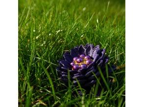 Dahlia Inspired Flower
