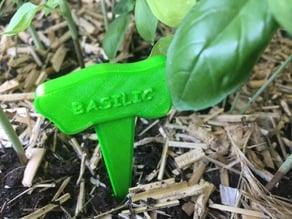label for vegetable garden