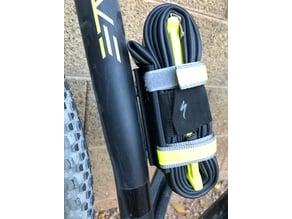 Bike Spare Tube and Tool Mount