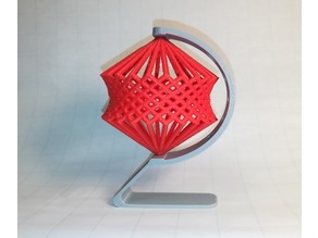 Cube Spinning, Cage, Hyperboloid