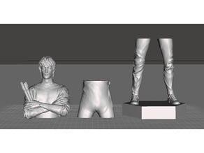 Bruce Lee - Hex platform 3 parts