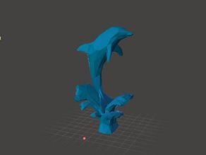 Dolphin Jumping - Low Poly